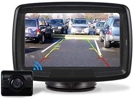 Auto-VOX TD-2 Telecamera Retromarcia Wireless per Auto Monitor LCD da 4,3 ''