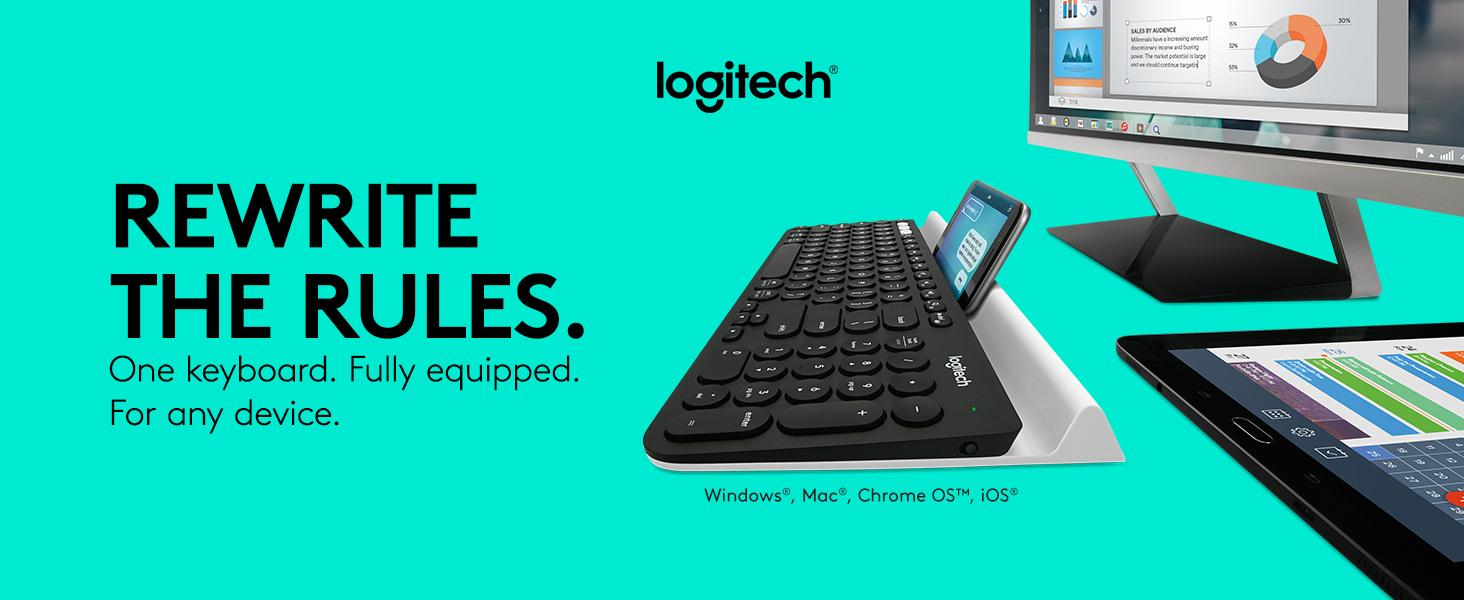 Logitech K780 Tastiera Wireless