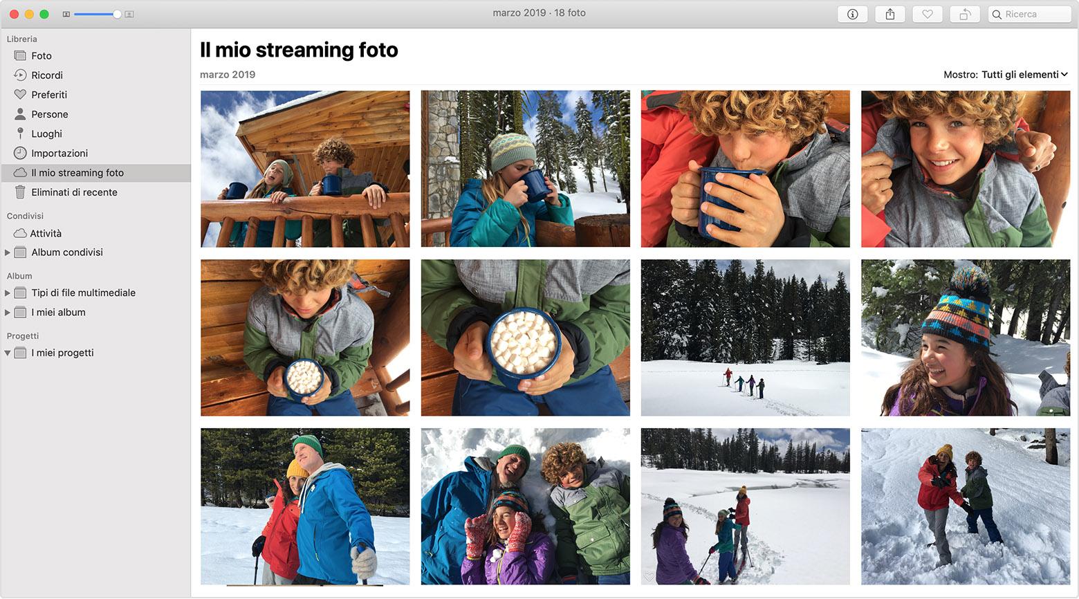 Streaming Photo